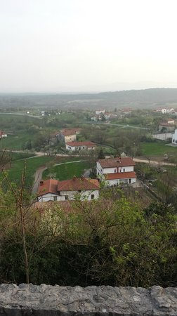 Grad Štanjel : the view