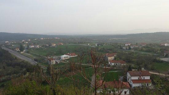 Grad Štanjel: the view