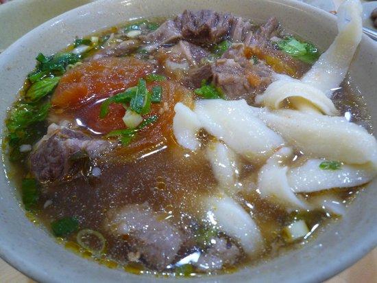 Shanxi Noodle: トマト牛肉麺