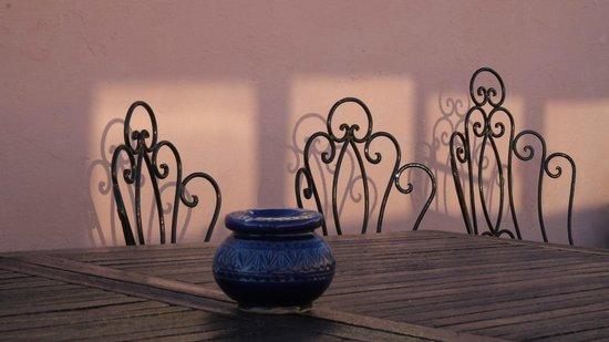 Riad Felloussia: Riad terrace