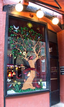New York Fun Tours : The Olive Tree Cafe on Macdougal Street