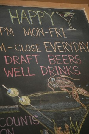 Pacific Catch: chalkboards