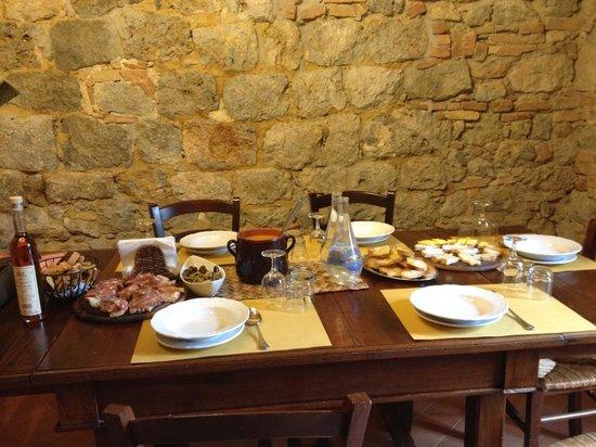 Fattoria San Donato: degustação