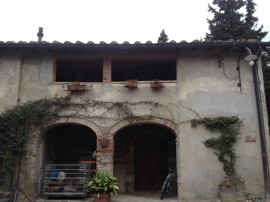 Fattoria San Donato : chalé de pedra