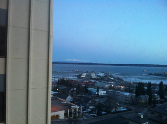 Hilton Anchorage: View from the 15th floor