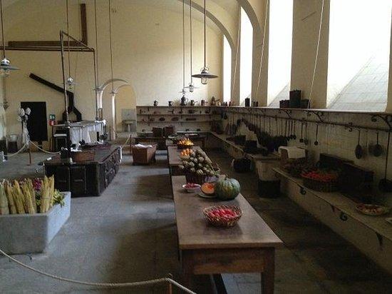 Castello di Racconigi - cucine