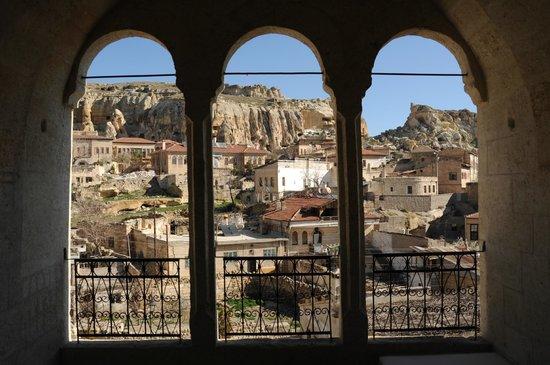 Dere Suites Cappadocia: Vistas desde el balcón de la habitación