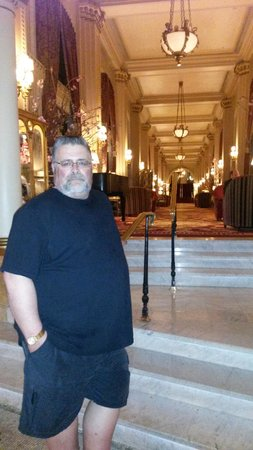 Willard InterContinental Washington : Part of the lobby