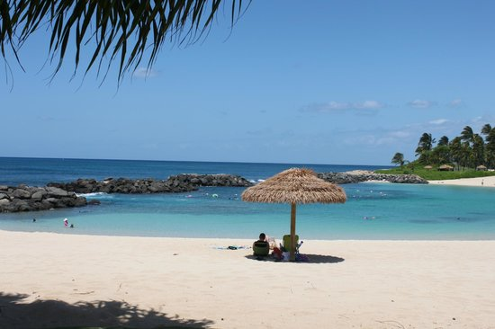 Beach Villas at Ko Olina: Beach Lagoon in front of property