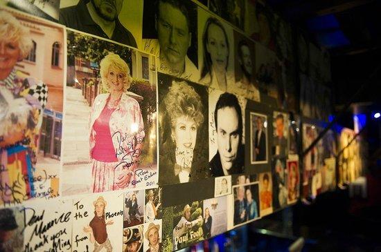 The Phoenix Artist Club : Wall photo collage