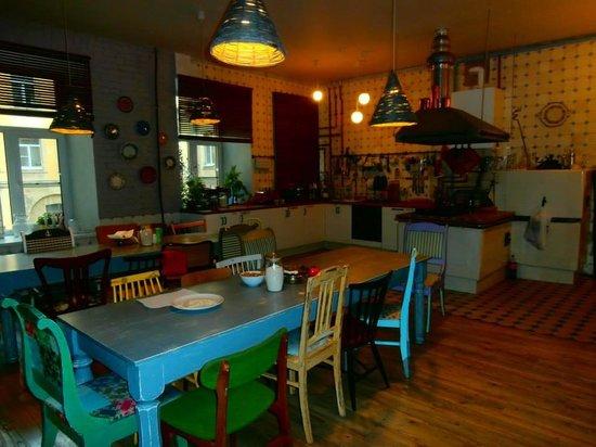 Soul Kitchen Hostel: Kitchen at Soul Kitchen Junior Hostel