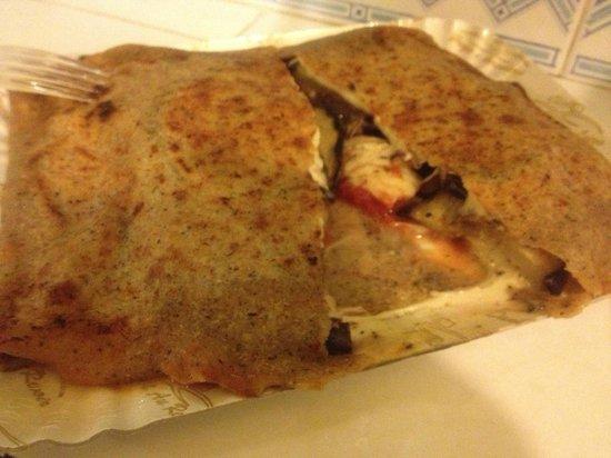 J'aime les Crepes: gallettes parmigiana