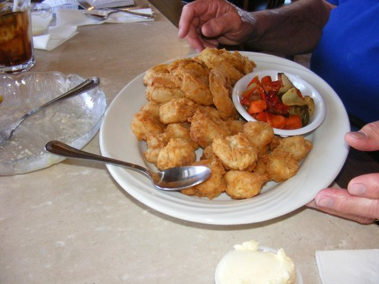 The Union Hotel : Fried Shrimp