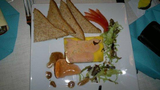 La Comedie: Foie gras e Canard (maison)