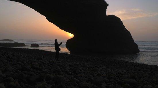 Xanadu: Lagzira arches near Sidi Ifni