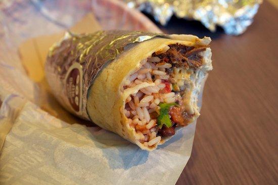 Bay Area Burrito Company: frische zutaten