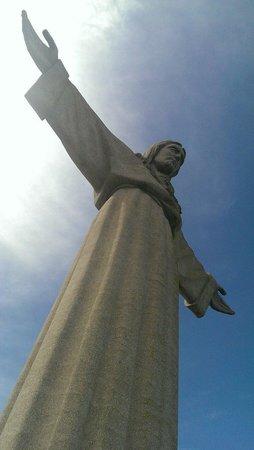 Santuario Nacional de Cristo Rei: Cristo Rei, le matin du 28 mars 2014