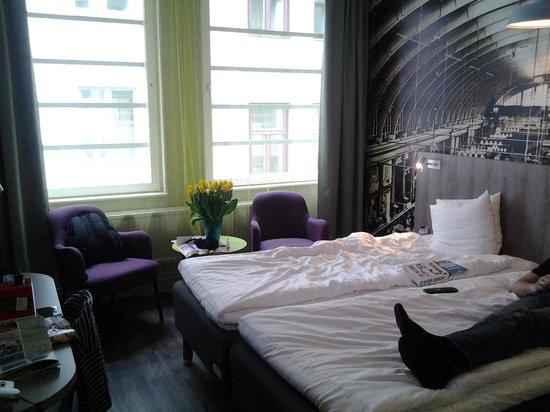 ProfilHotels Central Hotel: rommet vi fikk