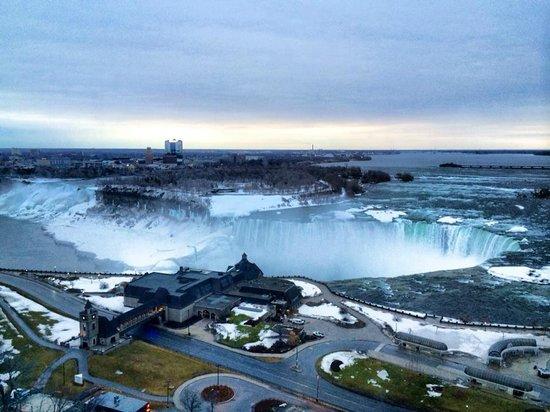 Niagara Falls Marriott Fallsview Hotel & Spa : Amazing View from 20th Floor