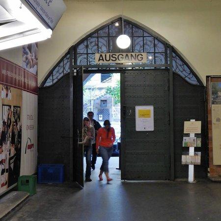 Markthalle: Eingang