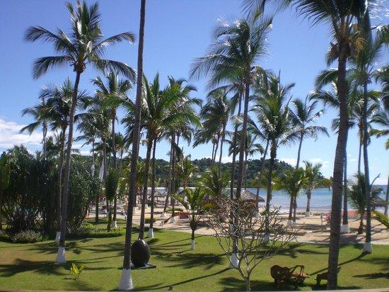 Andilana Beach Resort: Spiaggia e palme