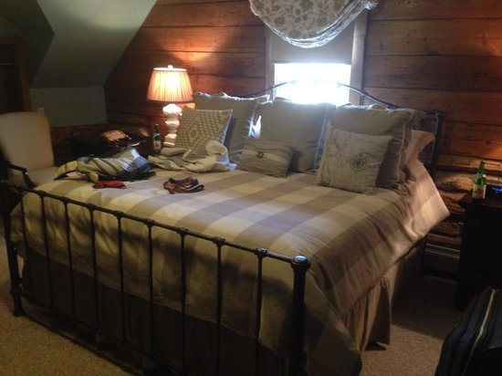 The Inn at Vineyards Crossing: Comfortable beds