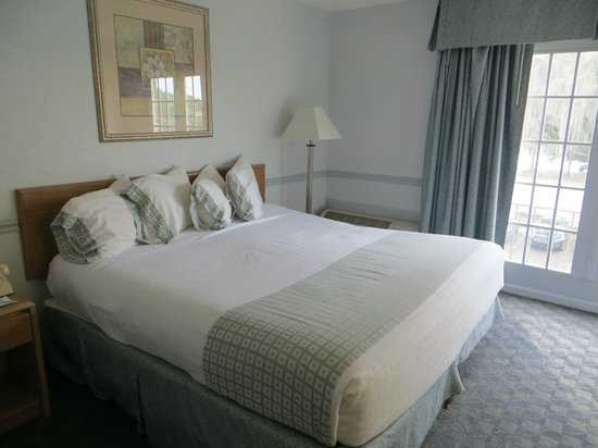 Comfort Inn Midtown : Letto King size