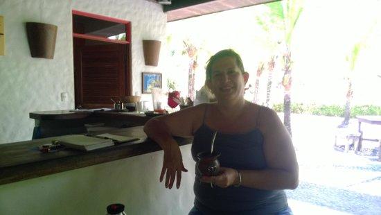Hotel Villas Gaia: Compartiendo el mate