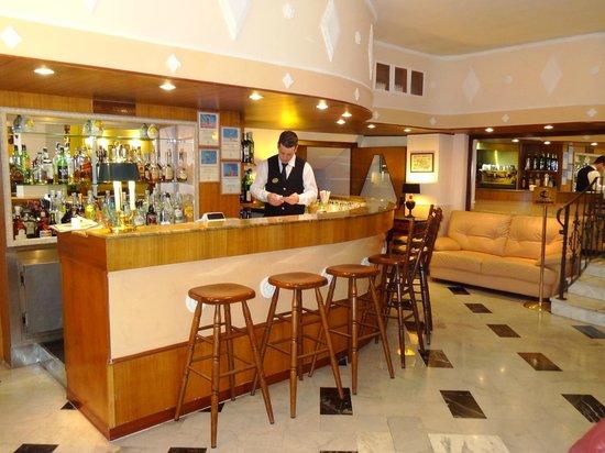 Bar at Hotel Central.