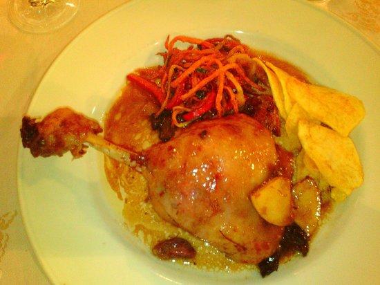 Gran Hotel Benasque: Pato