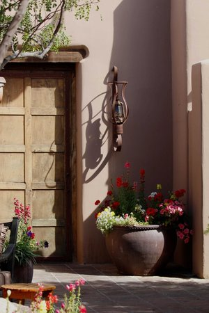 Hermosa Inn: Attention to every detail to give the Inn a rustic charm.