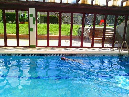 Gran Hotel Benasque: Piscina