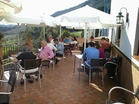 Cafe-Bar El Hacho: Terraza panorámica
