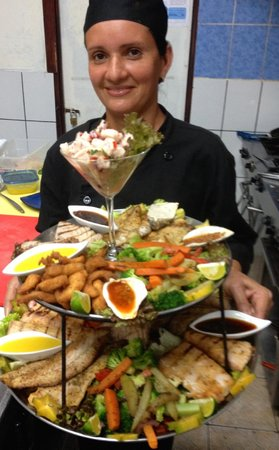 Z Gastro Bar: Fish Platter to share with four friends or family