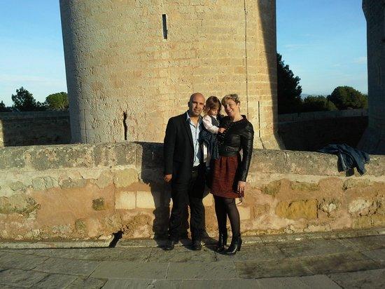 Castell de Bellver: Visita en familia.