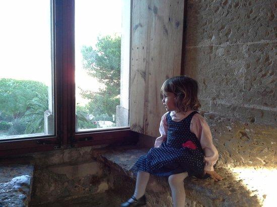Castell de Bellver: Una princesa del castillo de Bellver.