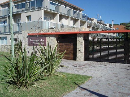 Terrazas al Mar Apart-Spa : Acceso al complejo desde la playa