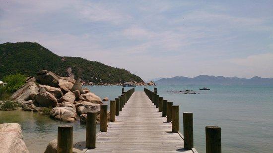 L'Alyana Villas Ninh Van Bay: arrival jetty