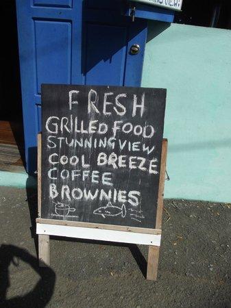 King's Bay Cafe: Grilled Food!