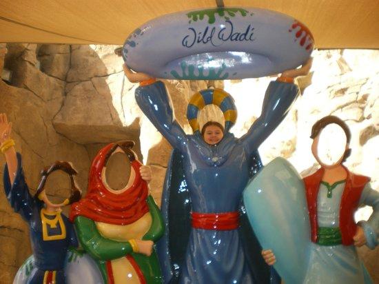 Wild Wadi Water Park : моя дочь -Аладин!