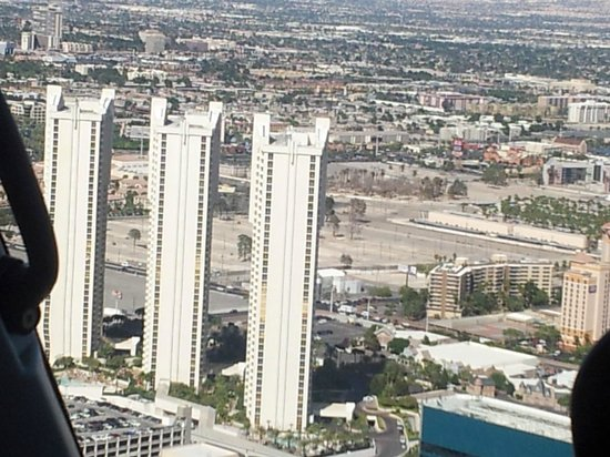 Signature at MGM Grand : View from helicopter