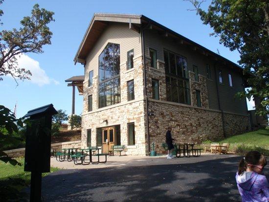 Missouri River Basin Lewis and Clark Interpretive Center: Patio