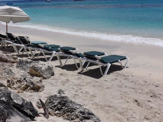 Mango Bay All Inclusive: plenty of sunbeds!