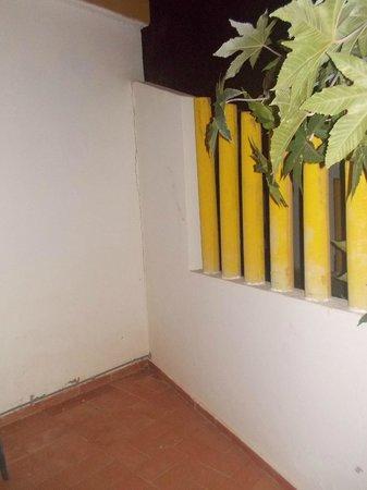 Club Caleta Dorada : terrasse de derriere