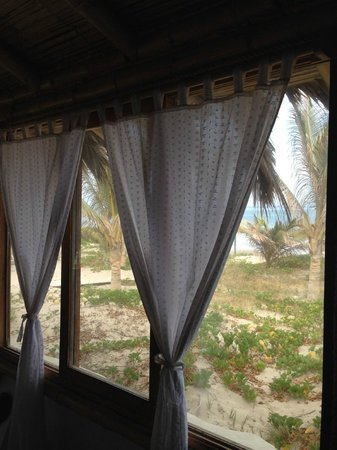 Bora Bora Bungalows: Nice view from your room