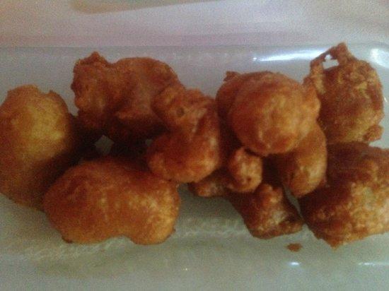 Pazo Restaurant: Cauliflower Fritters