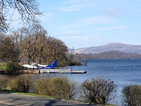 Cameron Club Lodges at The Carrick: the only hotel I know with a sea plane!