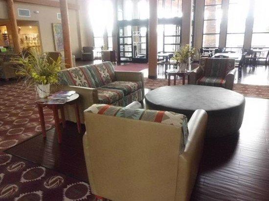 Moenkopi Legacy Inn & Suites : 待合い場
