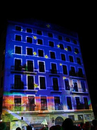 Fete des Lumieres Lyon : 2013