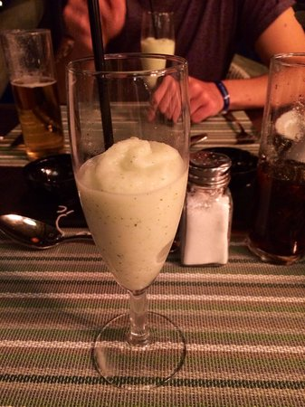 H10 Rubicon Palace : Italian a la carte. Champagne, lime and ginger sorbet, just stunning